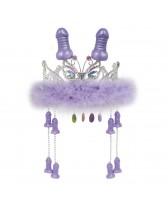 Corona para despedida de soltera con penes colgantes