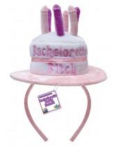 Sombrero en forma de torta con penes para despedida de soltera