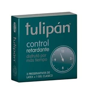 Preservativos o condones Tulipan