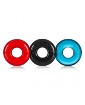 Anillos para mantener la ereccion RINGER 3PK DO NUT 1 MULTI COLOR