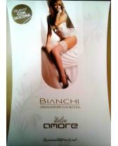 Medias lisas Dolce Amor 7/8 con puntilla de encaje con silicona
