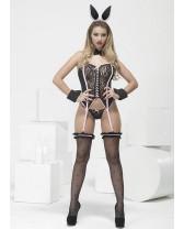 Traje de fantasía o disfraz sexy de Conejita PlayMate
