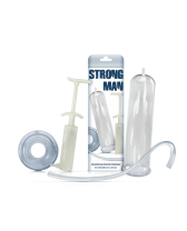 Bomba de succión de pene Strong Man Bomb
