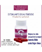 Oral G FEMALE - Estimulante y potenciador sexual femenino en cápsulas