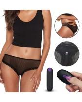 Tanga vibradora a control remoto . IJOY Rechargeable Remote Control vibrating panties