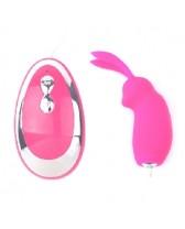 Vibrador estimulador de clítoris con control naughty rabbit II
