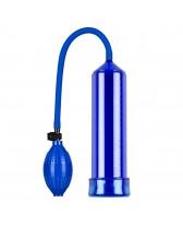 Bomba de succión de pene - Blue Pump with Quick Release Valve
