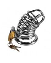 Jaula de castidad para pene Jailed Metal Chastity Cage