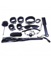 Set sado de 10 piezas de esclavitud High Quality 10 Pieces Bondage Kit
