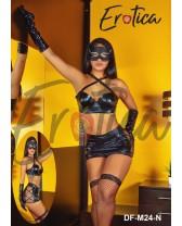 Traje de fantasía o disfraz sexy de Chica enmascarada