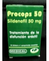 PROCOPS 50, Tratamiento de la disfunción eréctil
